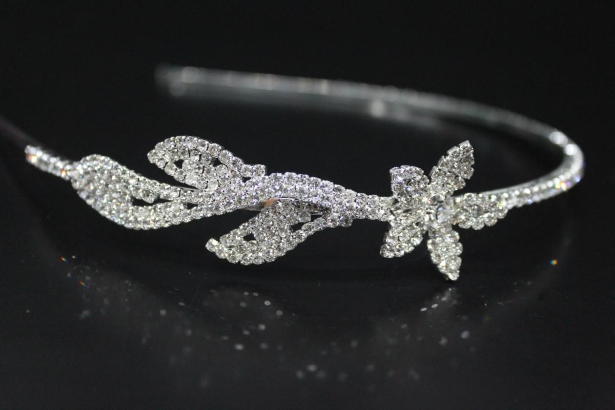 свадебный ободок бижутерия