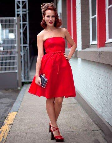 Обувь под красное платье на выпускной