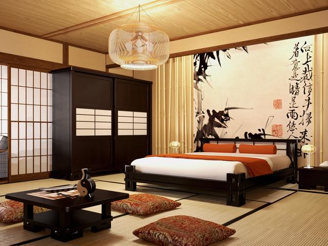 Спальня в стиле ФЭН-ШУЙ
